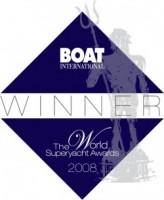 Classic Yacht Blue Bird's World Superyacht Award