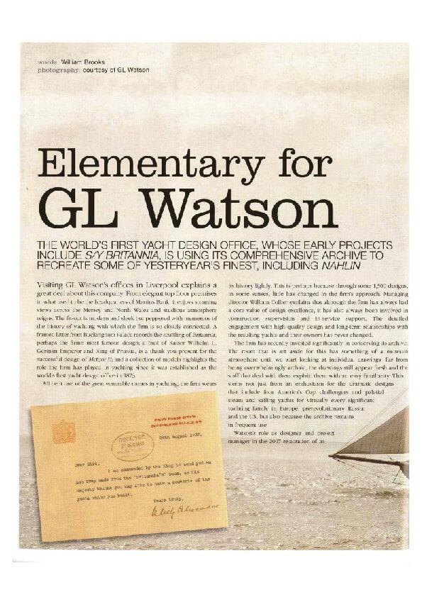 thumbnail of Boat+International+June+2010+-+Elementary+for+G.L.+Watson+