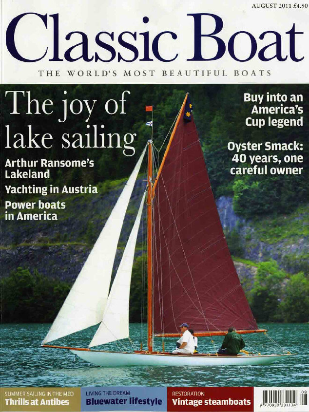 thumbnail of Classic boat August 2011 – St Patrick