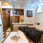 Classic yacht interior design