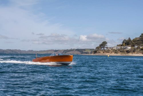 Fast Motor Launch designed for Classic Yacht Malahne