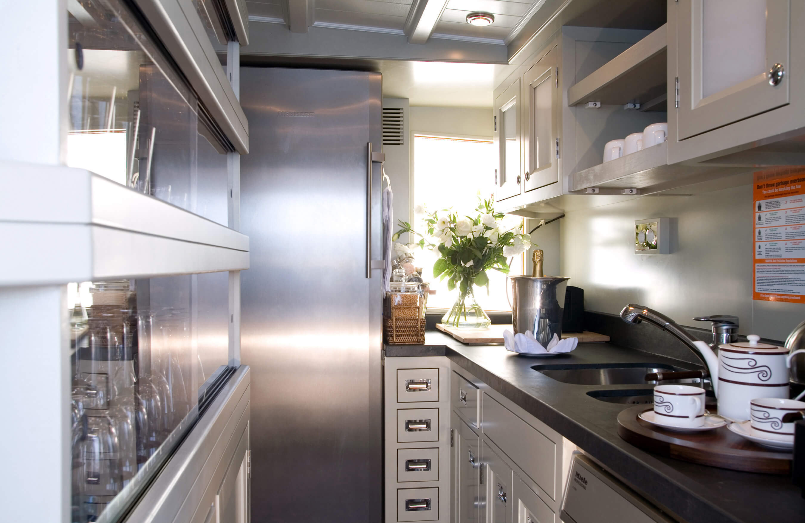 Modern Yacht Kitchen Design