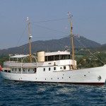 Classic Motor Yacht Blue Bird of 1938 after refit.