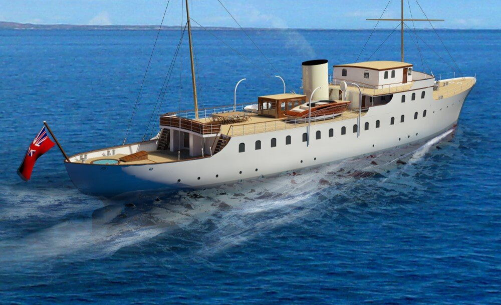 58m Classic Motor Yacht G L Watson Amp Co