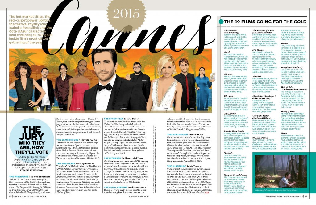 The Hollywood Reporter - Cannes Special Edition