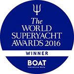 Classic Yacht Malahne's World Superyacht Award